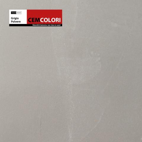19-037 CEMCOLORI Grigio Polvere trend 2020