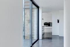 Modern minimalist interior